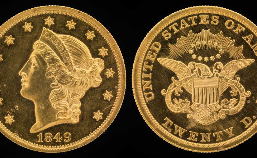 The Liberty Head $20 Gold Coin