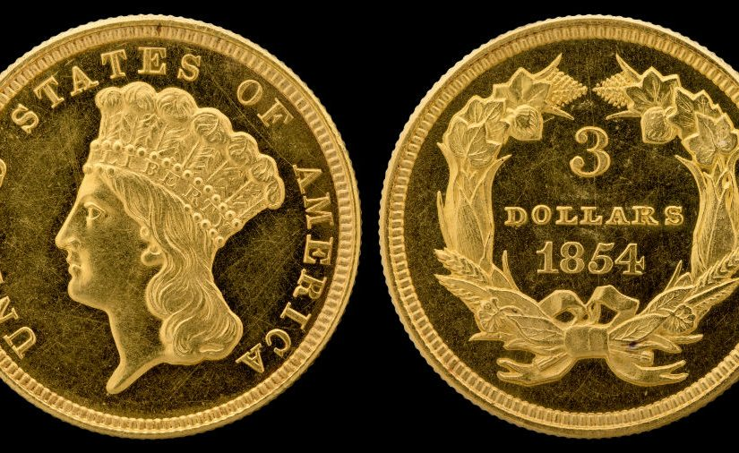 The Three Dollar Gold Coin