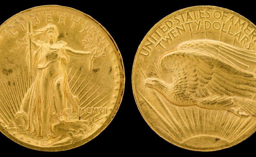 The Saint Gaudens $20 Gold Coin