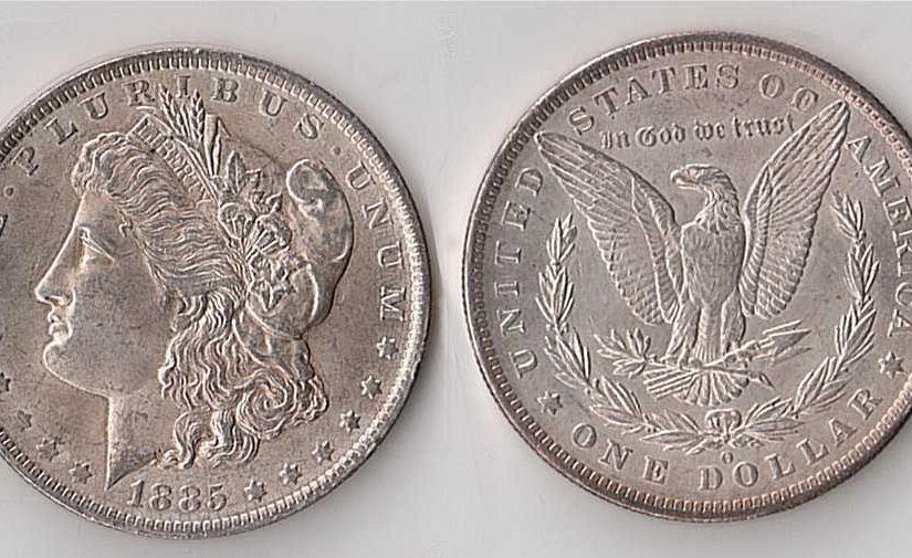 The Morgan Silver Dollar
